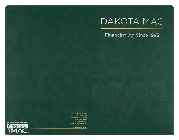 Dakota MAC (Front and Back Flat View)