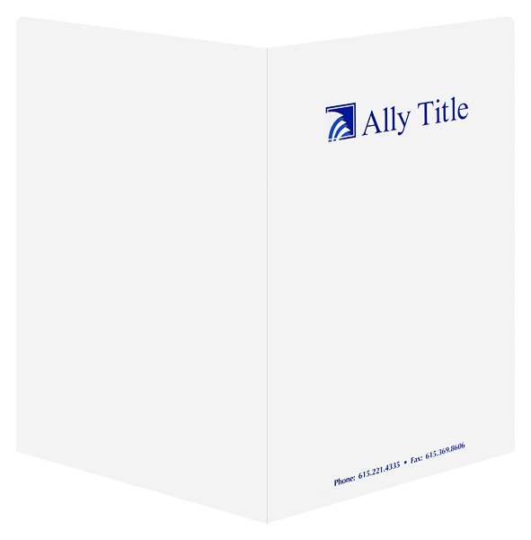Ally Title (Back and Front Open View)