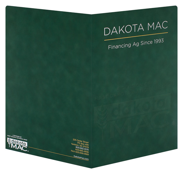 Dakota MAC (Back and Front Open View)