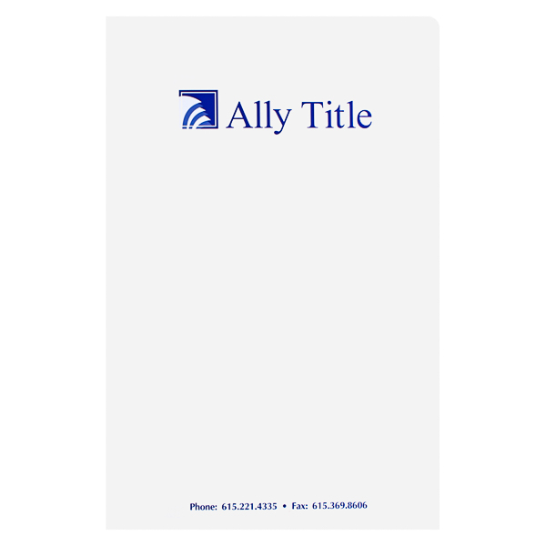Ally Title (Front View)