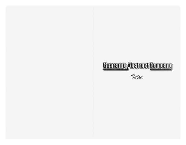 Guaranty Abstract Company (Back Flat View)