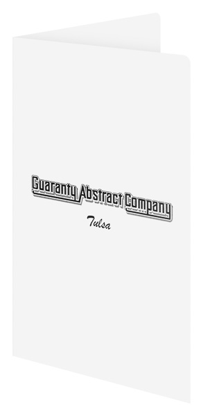 Guaranty Abstract Company (Front Open View)