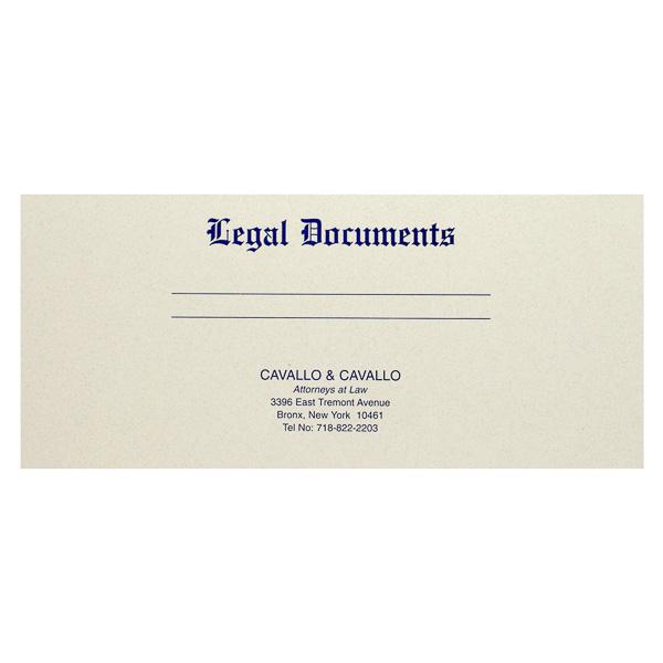 Custom Printed Letter Size Manuscript Cover
