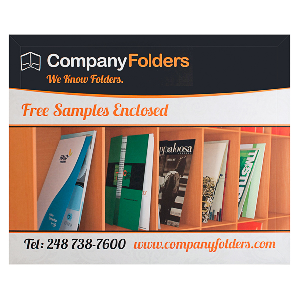 Company Folders (Back View)