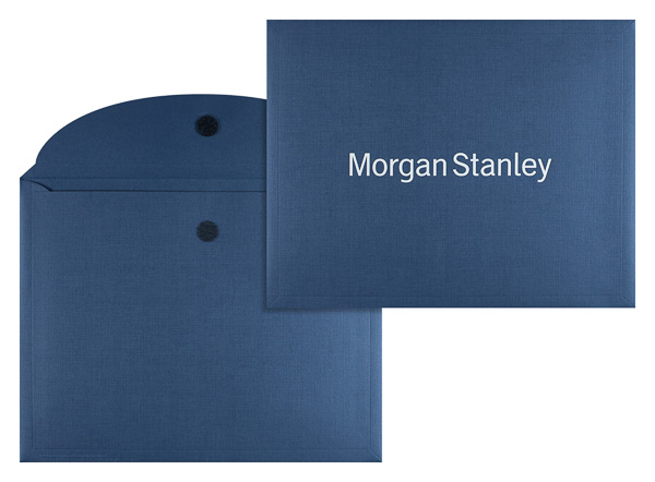 Morgan Stanley (Stack of Two Front and Inside View)