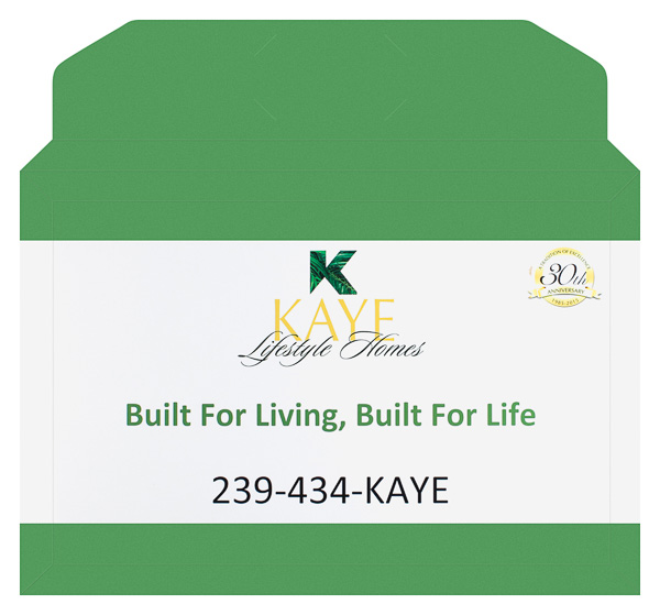 Kaye Lifestyle Homes (Front and Back Flat View)
