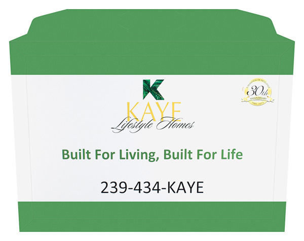 Kaye Lifestyle Homes (Front and Back Open View)
