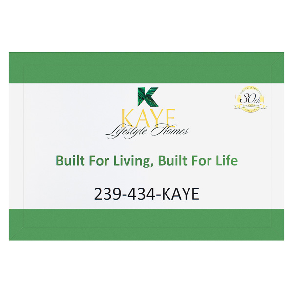 Kaye Lifestyle Homes (Front View)