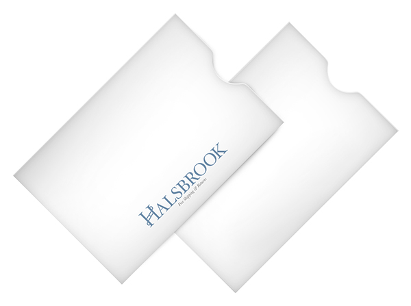 Halsbrook, Inc. (Stack of Two Front and Back View)