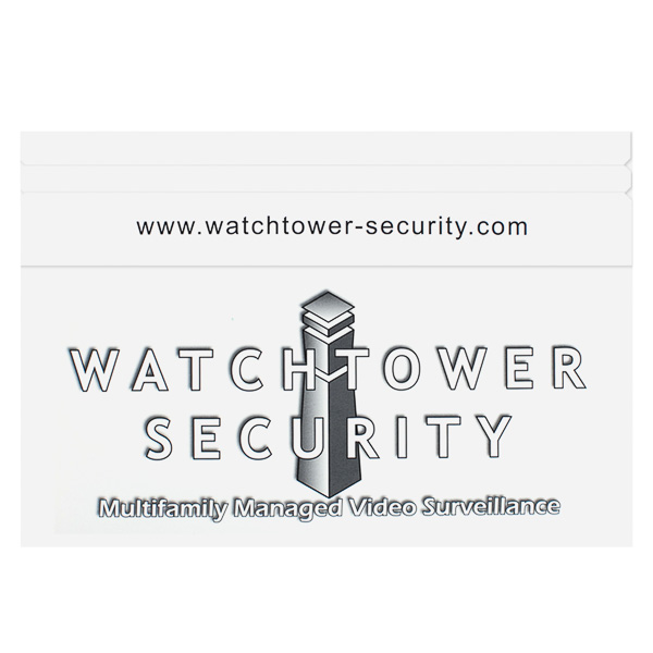 Watchtower Security (Back Flat View)