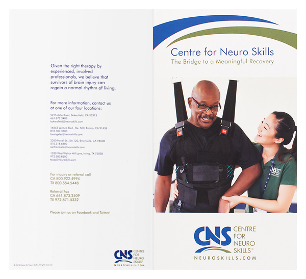 Centre for Neuro Skills (Back Flat View)