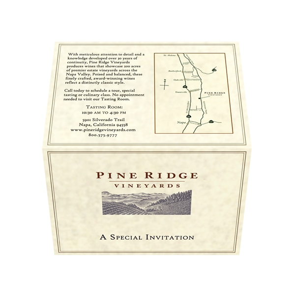 Pine Ridge Vineyards (Front and Back Open View)