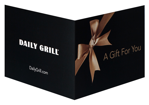 Daily Grill (Back and Front Open View)