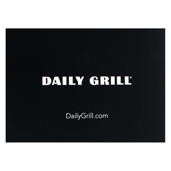 Daily Grill (Back Flat View)