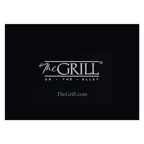 The Grill on the Alley (Back View)