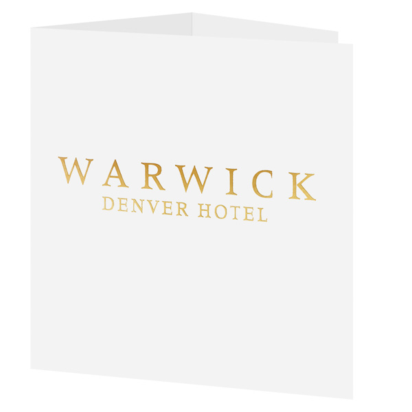 Warwick Denver Hotel (Front Open View)