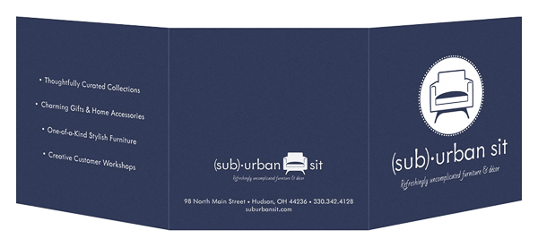 Suburban Sit (Front and Back Open View)
