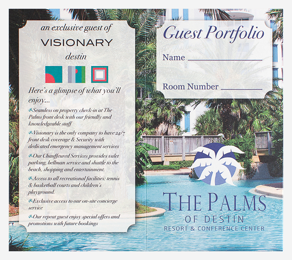 The Palms of Destin Resort & Conference Center (Front and Back Flat View)