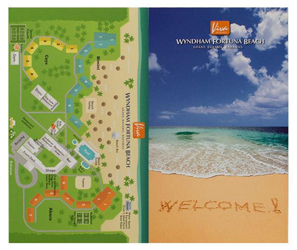 Viva Wyndham Fortuna Beach (Front and Back Flat View)