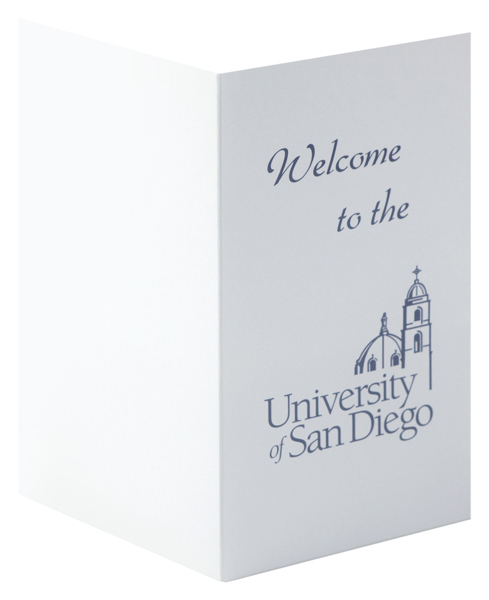University of San Diego (Front and Back Open View)