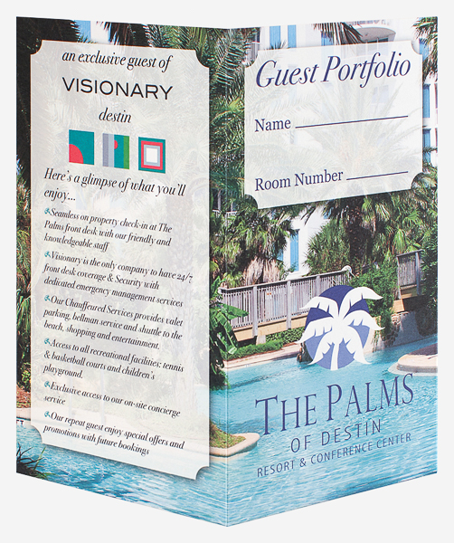 The Palms of Destin Resort & Conference Center (Front and Back Open View)