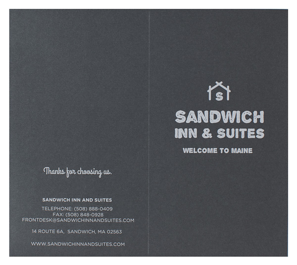 Sandwich Inn & Suites (Back Flat View)