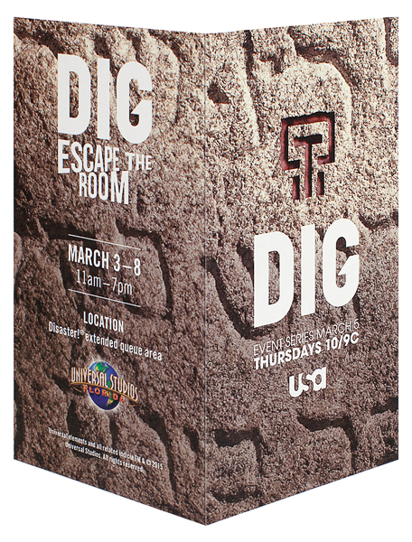 DIG (Back and Front Open View)