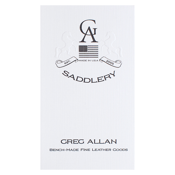 Greg Allan Saddlery (Front View)
