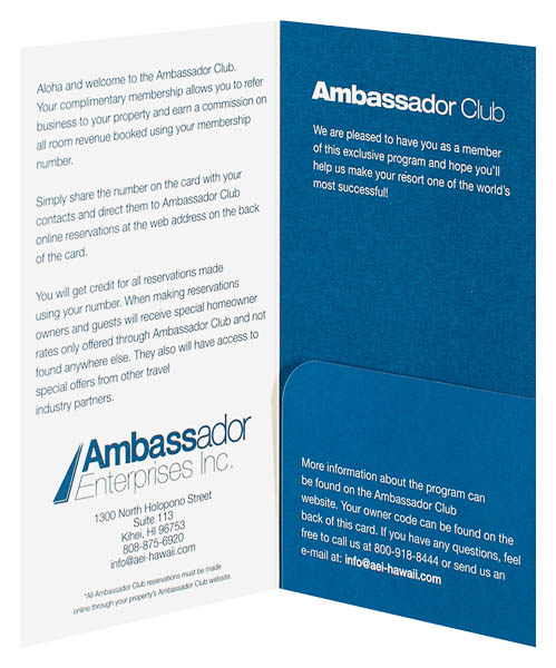 Ambassador Enterprises, Inc. (Inside Open View)