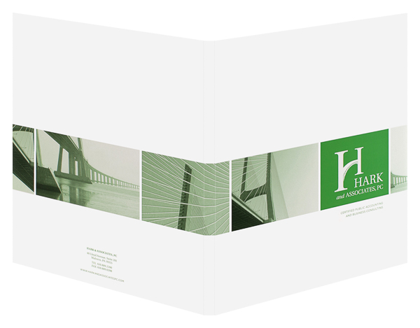 Hark & Associates, PC (Front and Back Open View)