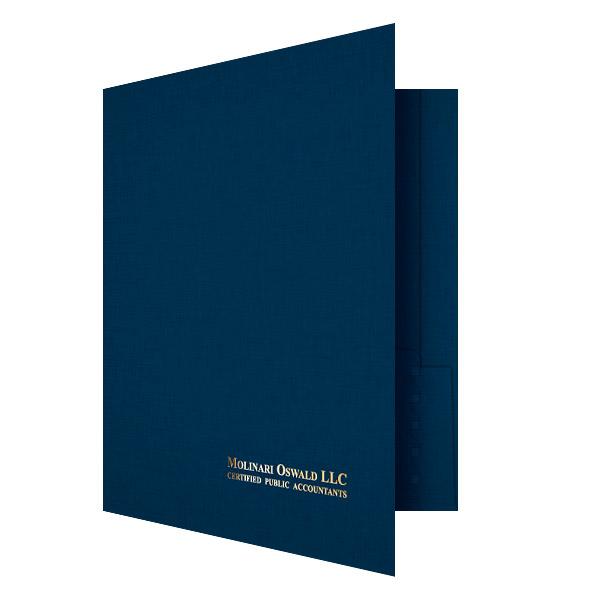 Custom Printed Reinforced 2 Expandable Pocket Folder