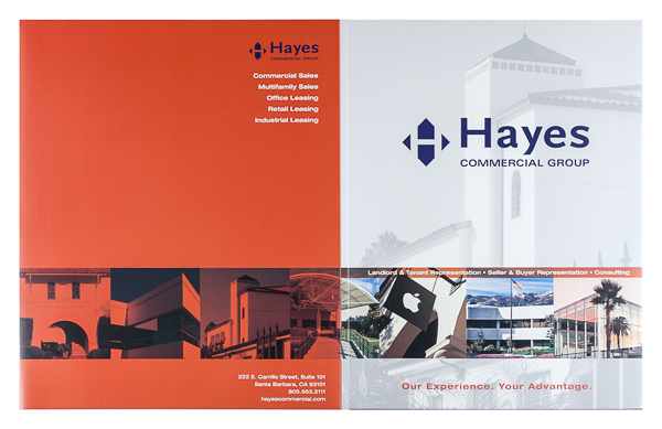 Hayes Commercial Group (Front and Back Flat View)
