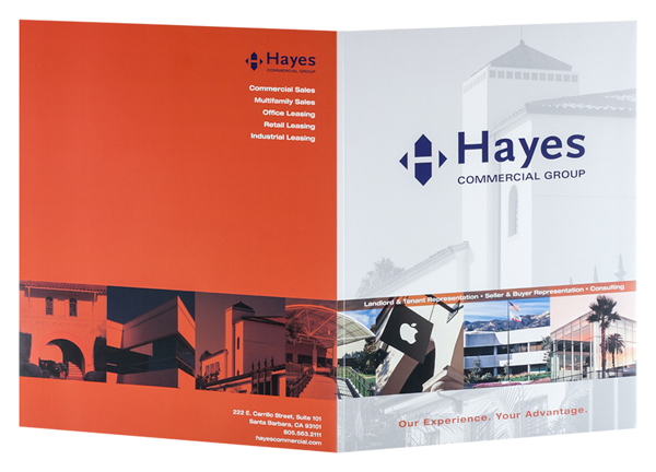 Hayes Commercial Group (Front and Back Open View)