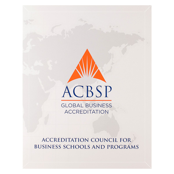 Accreditation Council for Business Schools and Programs (Front View)