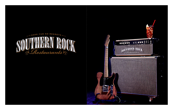 Southern Rock Restaurants (Front and Back Flat View)