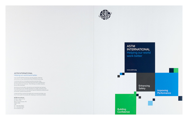 ASTM International (Front and Back Flat View)