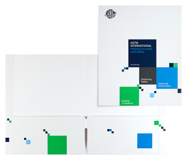 ASTM International (Stack of Two Front and Inside View)