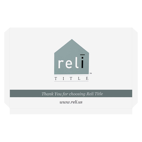 Reli Title (Front View)