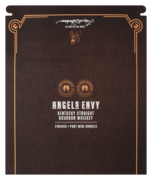 Angel's Envy (Front and Back Flat View)