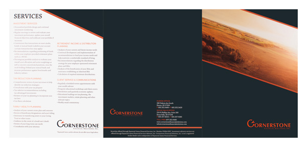 Cornerstone Financial Solutions, Inc. (Back Flat View)