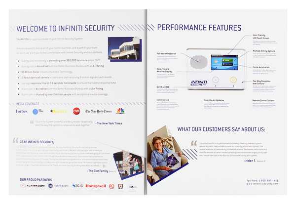 Infiniti Security (Inside Partially Open View)