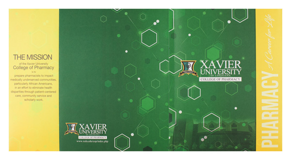 Xavier University College of Pharmacy (Back Flat View)