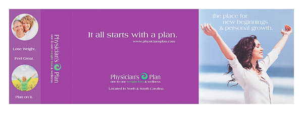 Physician's Plan (Front and Back Flat View)
