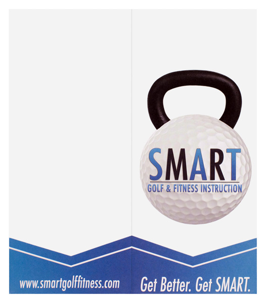 Smart Golf & Fitness Instruction (Back Flat View)