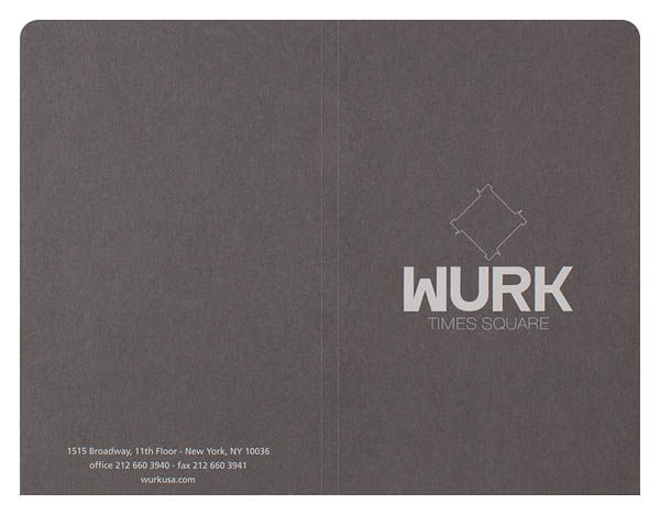 Wurk USA (Front and Back Flat View)
