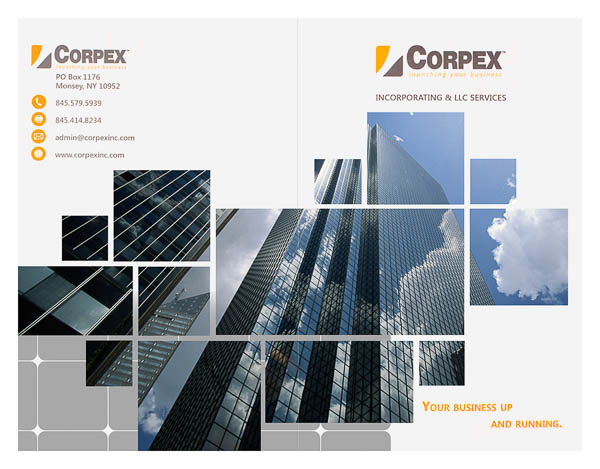 Corpex, Inc. (Front and Back Flat View)