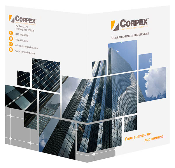 Corpex, Inc. (Front and Back Open View)
