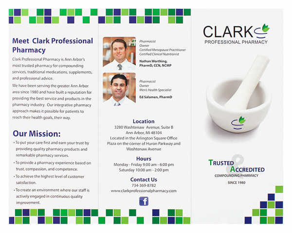 Clark Professional Pharmacy (Back Flat View)