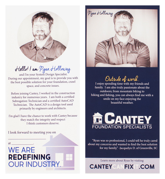 Cantey Foundation Specialists (Stack of Two Front and Back View)