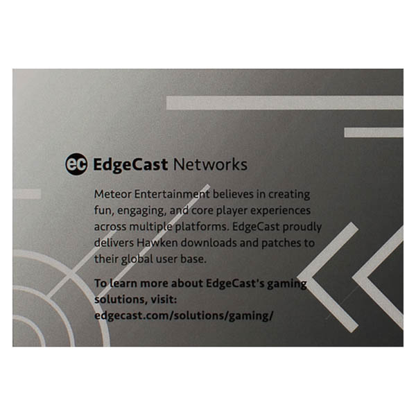 EdgeCast Networks (Back Flat View)